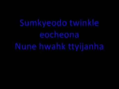 Girls' Generation-TTS_Twinkle [Lyrics] First Mini-Album