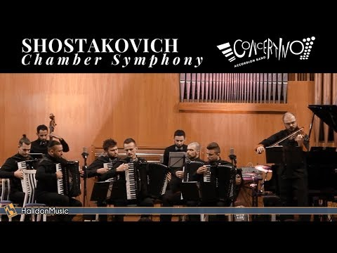 Chamber Symphony, Op 110a (Shostakovich/Barshai) - Concertino Accordion Band
