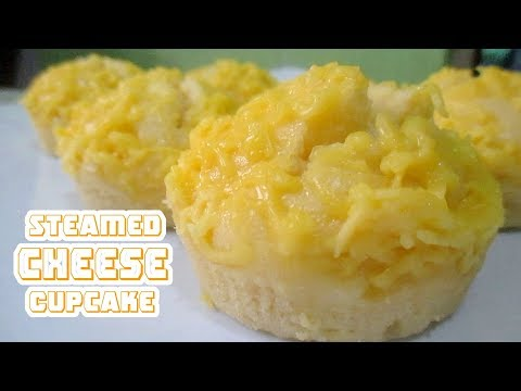 No Bake Steamed Cheese Cupcake Recipe
