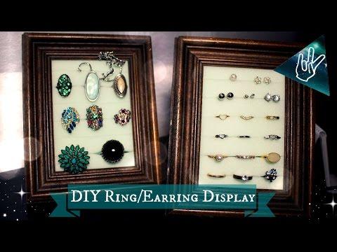 DIY Ring/Earring Display | JilTheReal