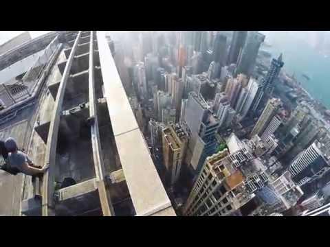 rooftopping Times Square, causeway bay, hongkong