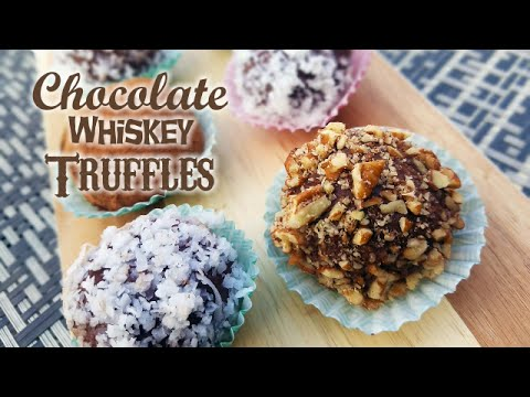 Chocolate Whiskey Truffles - What's For Din'? - Courtney Budzyn - Recipe 50