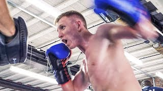 Ted Cheeseman: FITZGERALD IN FOCUS | Boxing Media Workout