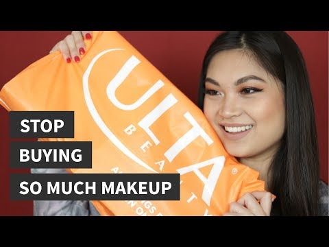 ULTA BEAUTY HAUL 2018 | STOP BUYING SO MUCH MAKEUP RANT