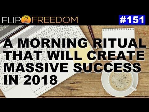 F2F 151: A Morning Ritual That Will Create Massive Success in 2018