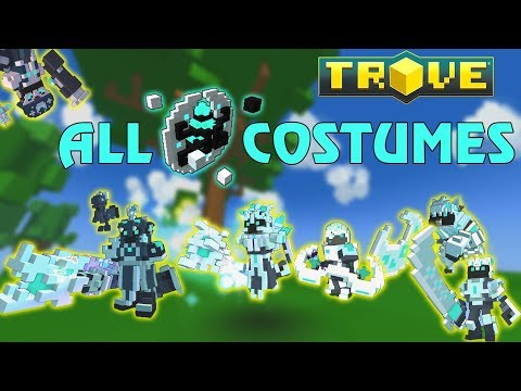 All Despoiled Divinity Costumes in Trove - Trove ST Costume preview