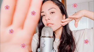 Face touching & Mouth sounds & Inaudible 🌸✨ ASMR Sita Sofia