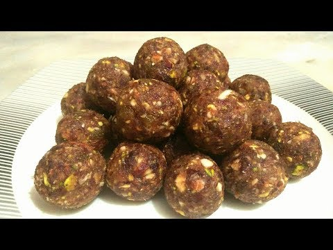 No Bake Date and Nuts Energy Balls