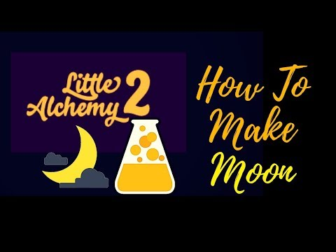 Little Alchemy 2-How To Make Halloween 🎃 Moon Cheats & Hints