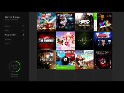 HOW TO LICENSE TRANSFER ON XBOX ONE!