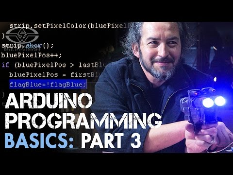 Animatronic Control Systems - Arduino Programming Basics Part 3 - PREVIEW