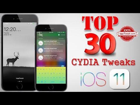 TOP 30 Best Cydia Tweaks & Apps For iOS 11 – 11.4 Electra Jailbreak