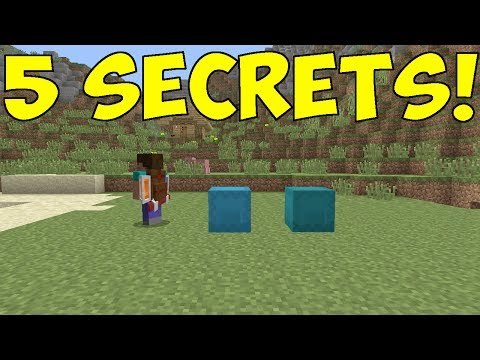 Minecraft PS4/XBOX - 5 SECRET TU53 FEATURES!