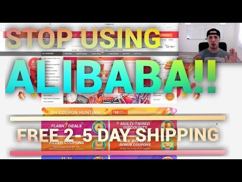 How I Find Suppliers With FREE 2-5 DAY SHIPPING For Amazon FBA Or Shopify Drop Shipping (DH Gate)