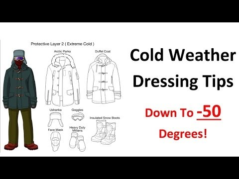Cold Weather Dressing Tips - Base Layer Insulating Layers - Extreme Arctic Clothing