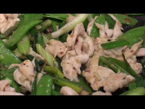 Healthy Stir-Fry Chicken With Vegetables