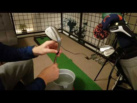 ASMR Golf | How to Clean Your Clubs & What's in the Bag