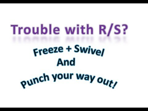 R and S Chiral Centers Made Easy! Part 1 - Using Violence! + Freeze and Swivel! - Organic Chemistry