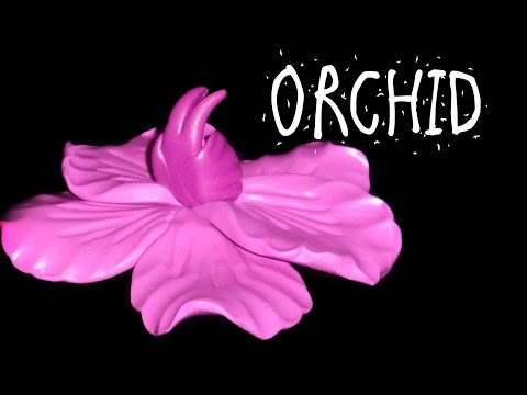 HOW TO MAKE AN ORCHID – POLYMER CLAY TUTORIAL