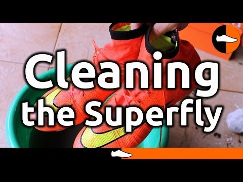 How to Clean the Nike Mercurial Superfly - FootballBoots.co.uk