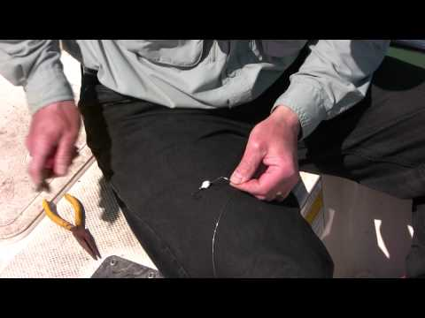 How to Tie your own Steel Wire Fishing Leader