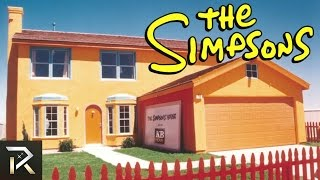 10 REAL Houses Inspired By Cartoons
