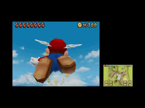 Super Mario 64 DS - Part 5 - Learning to Fly