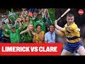 THE SATURDAY PANEL Great GAA Rivalries Limerick V Clare Jamesie O39Connor And Joe Quaid