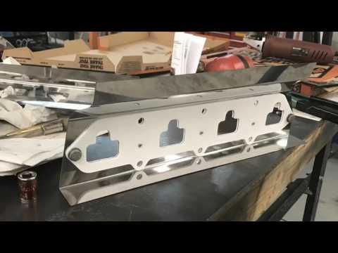 High ten intake manifold gasket and heat shield.