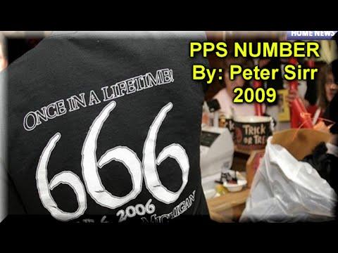 666 PPS NUMBER poet Peter Sirr