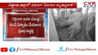 పలమనేరులో మరో గజరాజు మృతి l Elephant Lost Life Due To Electrocution l CVR NEWS