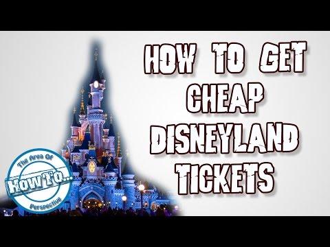 How to get Cheap Disneyland Tickets ?!