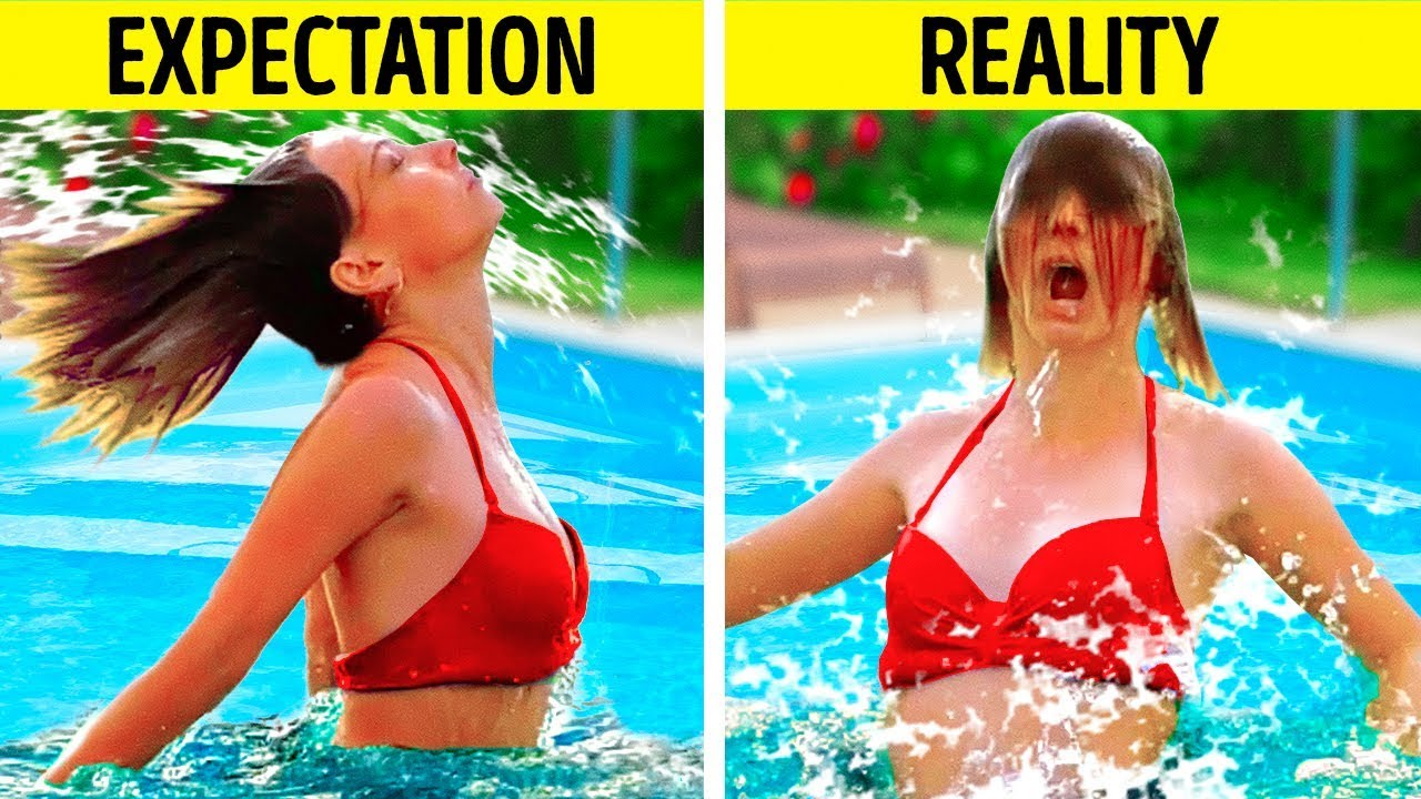 25 FUNNY SITUATIONS YOU'VE DEFINITELY BEEN IN || EXPECTATION VS REALITY