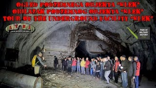 Obilazak podzemnog objekta KLEK sa ekipom iz Pivke (23.03.2019.)