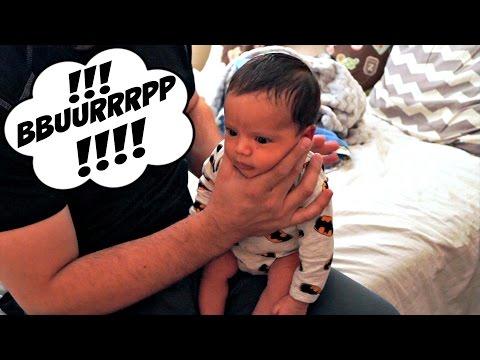 Best Baby Burping Technique