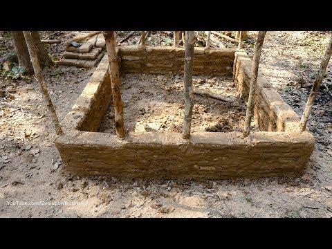 Primitive Technology, Mud huts, ep 2