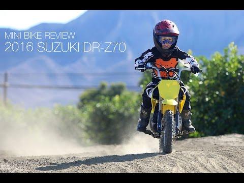 2016 Suzuki DR-Z70 Review - MotoUSA