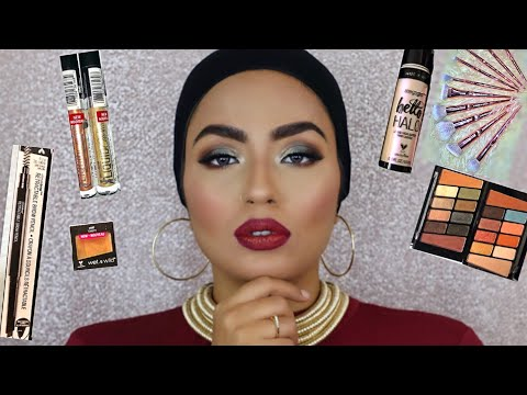 Full Face Using New Wet N Wild Makeup Products & Brushes Only