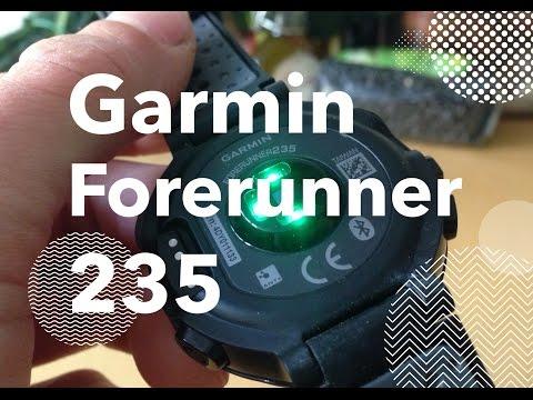 Garmin Forerunner 235 optical heart rate monitor watch - quick review