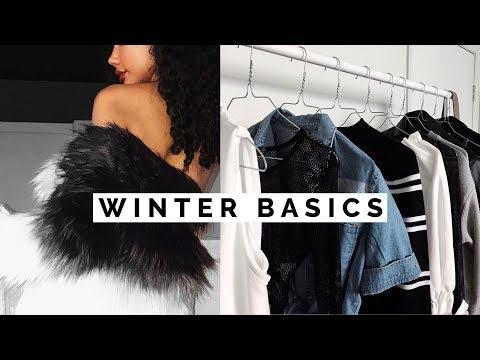 10 Winter Basics EVERYONE Needs! | Wardrobe Basics