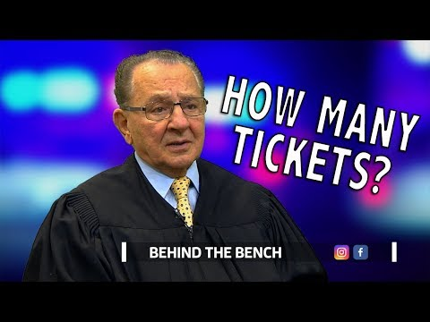 Behind the Bench: How Many Tickets?