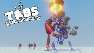 TABS - New Map! - Balloon Man Army and Viewer Battles! - Totally Accurate Battle Simulator