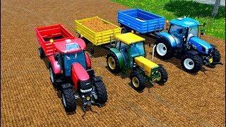 Tractorul Pentru Copii Cu Tractoare Pentru Copii ( Red,yellow, Blue)
