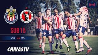 EN VIVO: Chivas vs. Xolos | GRAN FINAL | LigaMX Sub15 | CHIVASTV