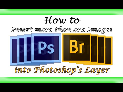 Insert Multiple Images into Photoshop Layers *HD 720p*