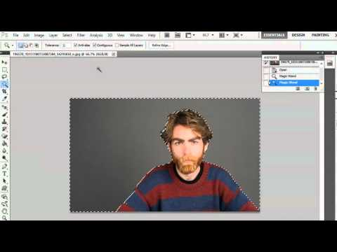 How to Delete From a Selection in Photoshop : Photoshop Basics