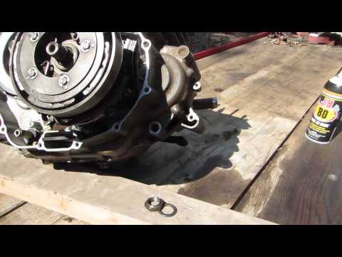 54% gear reduction install in 300 Honda video Dons camera 007