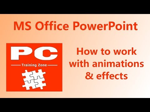 MS Office PowerPoint - Animations & Effects