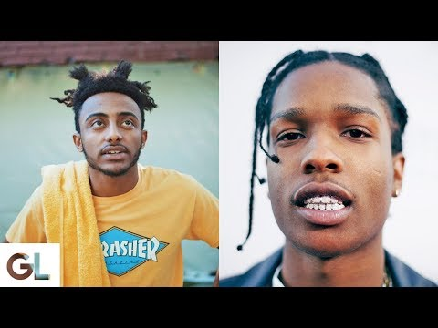 Asap Rocky Hairstyles