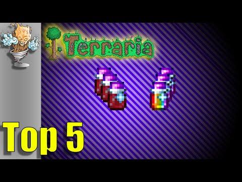 Terraria Top 5 Trader Dyes | Terraria 1.3 Countdown